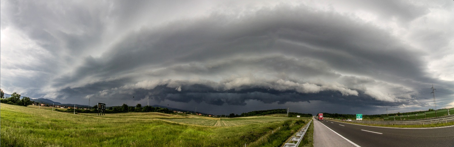 shelf cloud okolica zagreba 3.6.2020 kristijan cizerl 1